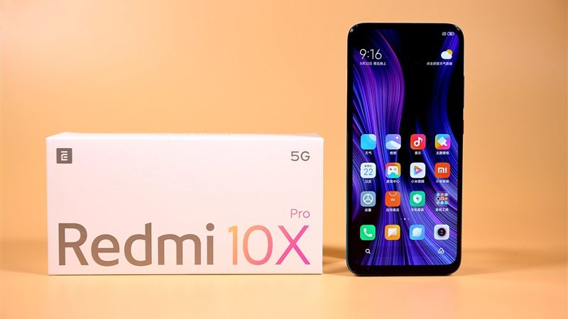 Redmi 10X Pro Quick Hands-On: Dimensity 820 First Debut