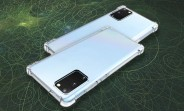 Case renders show the Galaxy Note20+ will have a curved screen, Note20 screen will be flat