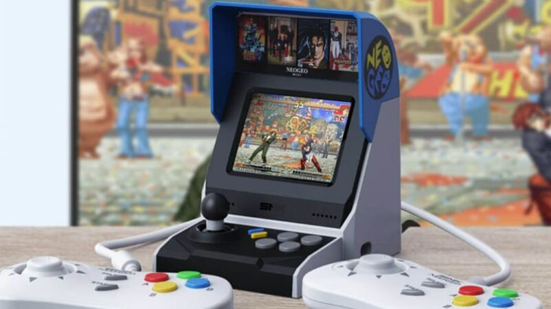 Xiaomi teams up with SNK Corporation to launch NEOGEO Mini game console internationally